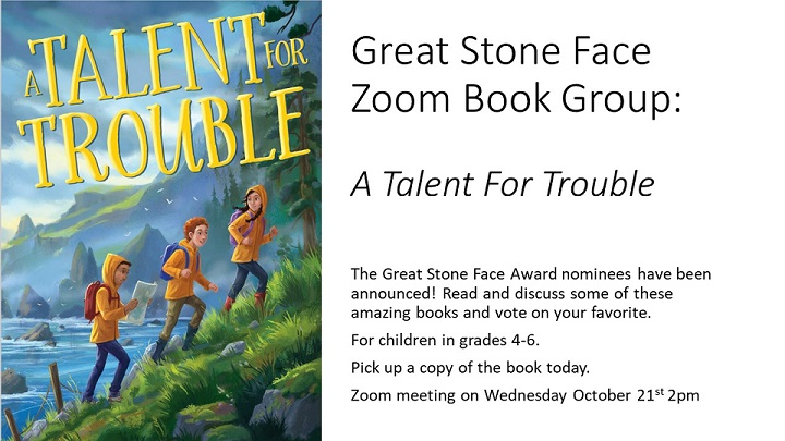 Great Stone Face Zoom Book Group
