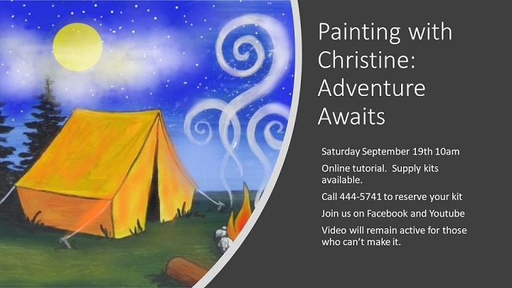 Painting with Christine